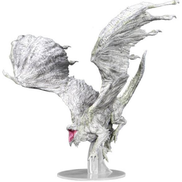 D&D Miniatures: Icons of the Realms Premium Miniatures - Adult White Dragon
