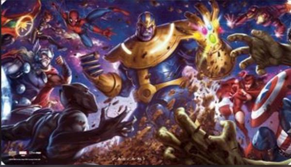 Marvel Card Playmats: Thanos