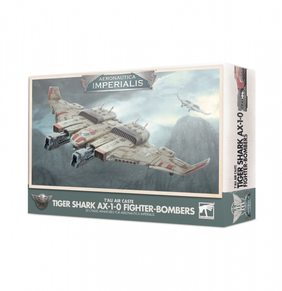 Aeronautica Imperialis: T'au Air Caste Tiger Shark AX-1-0 Fighter-Bombers