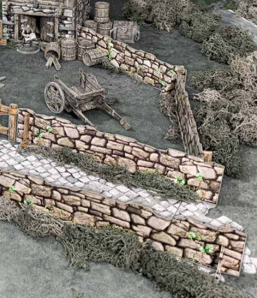 Battle Systems: Stone Walls (48'')