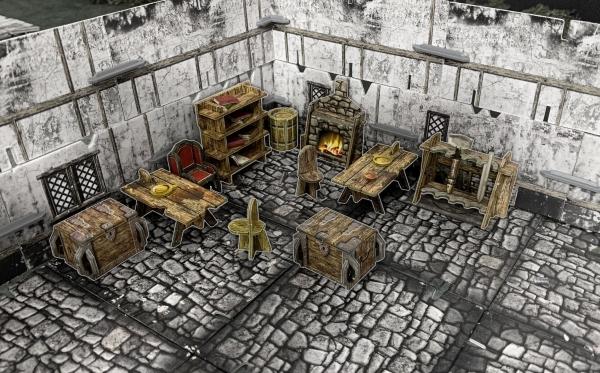 Battle Systems: Fantasy Village Furniture