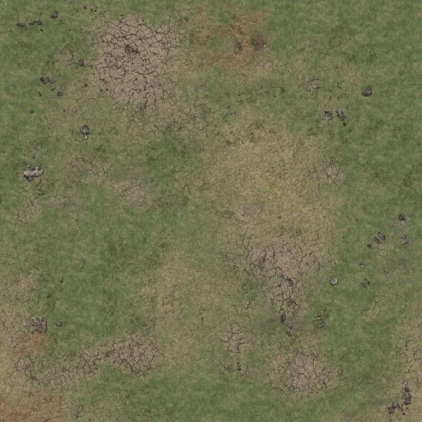 Battle Systems: Grassy Fields Gaming Mat 3'x3'