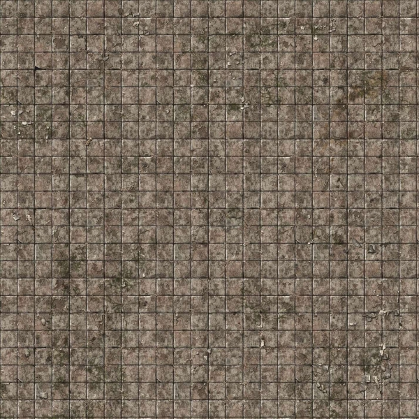 Battle Systems: Flagstone Floor Gaming Mat 2'x2'