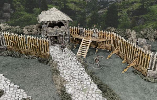 Battle Systems: Palisade Walls