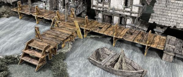 Battle Systems: Raised Walkways