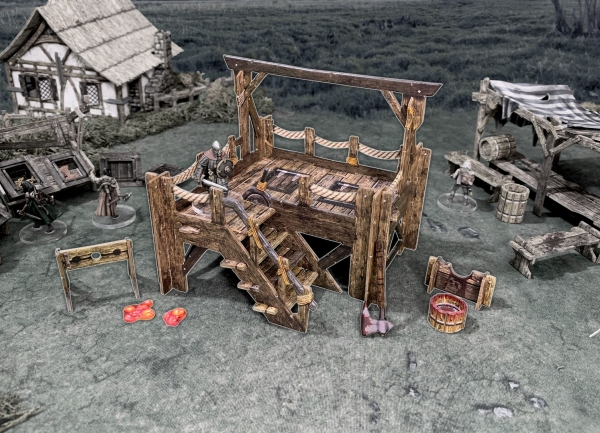 Battle Systems: Gallows & Stocks