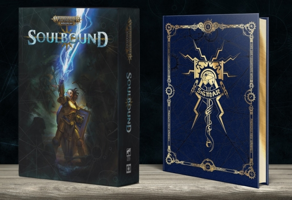 Soulbound RPG: Warhammer Age of Sigmar Rulebook Collector's Edition