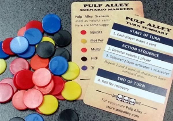 Pulp Alley: (Accessory) Scenario Markers