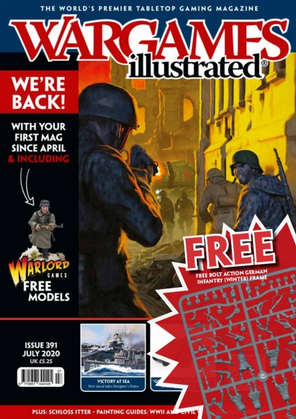 Wargames Illustrated Magazine #391 (includes free Bolt Action German Infantry Sprue (Winter)