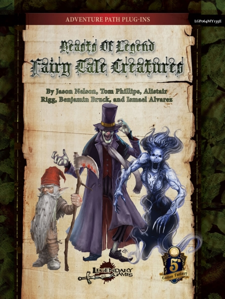 D&D 5th Edition: Beasts of Legend - Fairy Tale Creatures (5E)