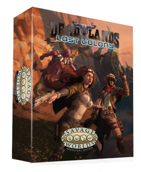 Savage Worlds RPG: Deadlands - Lost Colony Boxed Set