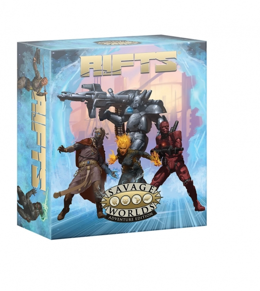 Savage Worlds RPG: Rifts Adventure Edition Boxed Set