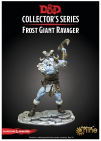 D&D Miniatures: Icewind Dale Rime of the Frostmaiden - Frost Giant Ravager (1)