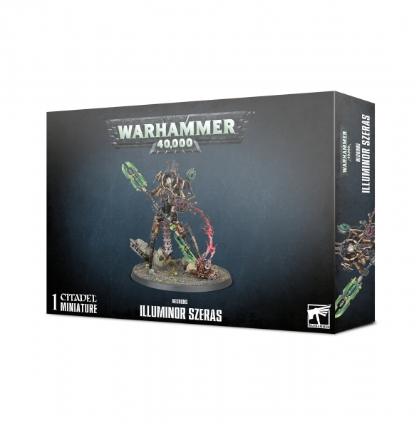 WH40K: Necrons - Illuminor Szeras