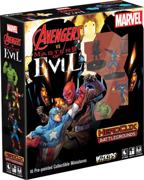 Marvel HeroClix Battlegrounds: Avengers vs Masters of Evil Starter