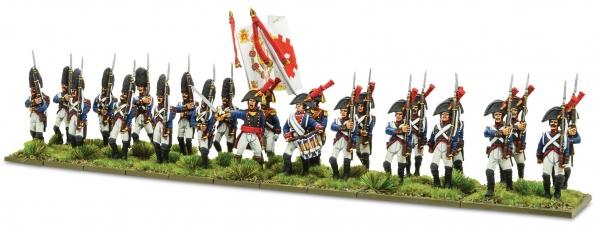 Black Powder: Napoleonic Spanish Infantry (1st Battalion) 1805-1811