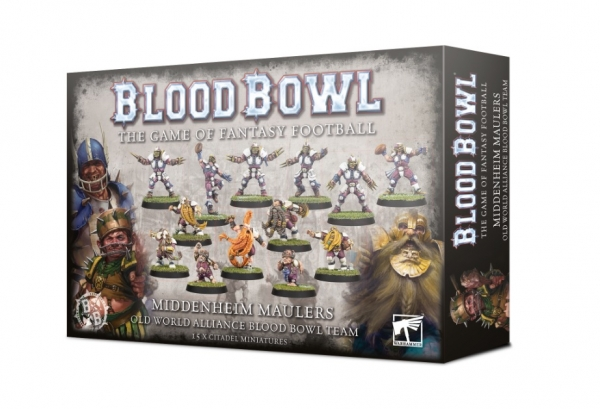 Blood Bowl: The Middenheim Maulers Team