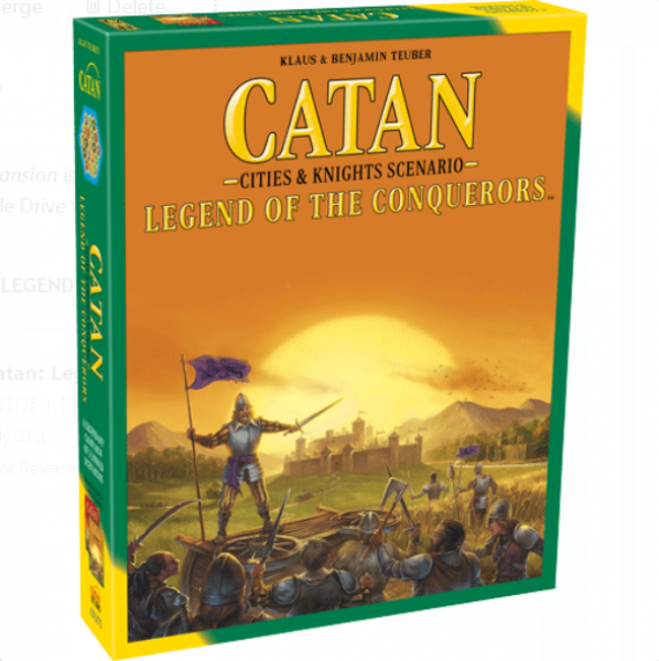 Catan: Legend of the Conquerors Expansion