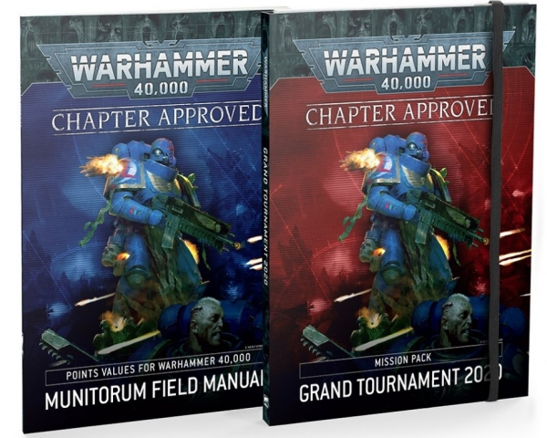WH40K: Grand Tournament 2020 Pack [2 Books]