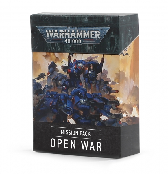 WH40K: Mission Pack - Open War Cards