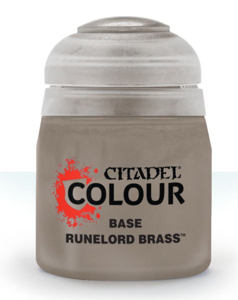 Citadel Color: Base - Runelord Brass (12ML)