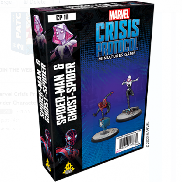 Marvel Crisis Protocol: Spider-Man & Ghost-Spider Character Pack