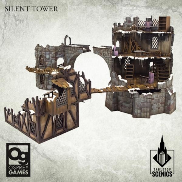 Kromlech Tabletop Scenics: Silent Tower [Frostgrave]