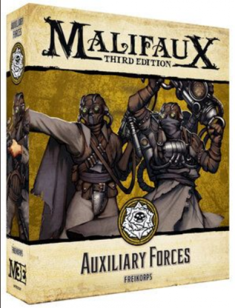 Malifaux (M3E): Auxillary Forces