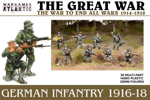 Great War: German Infantry (1916-1918)
