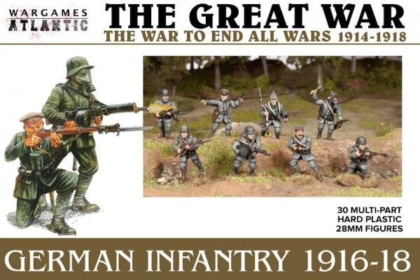 Great War: German Infantry (1916-1918)