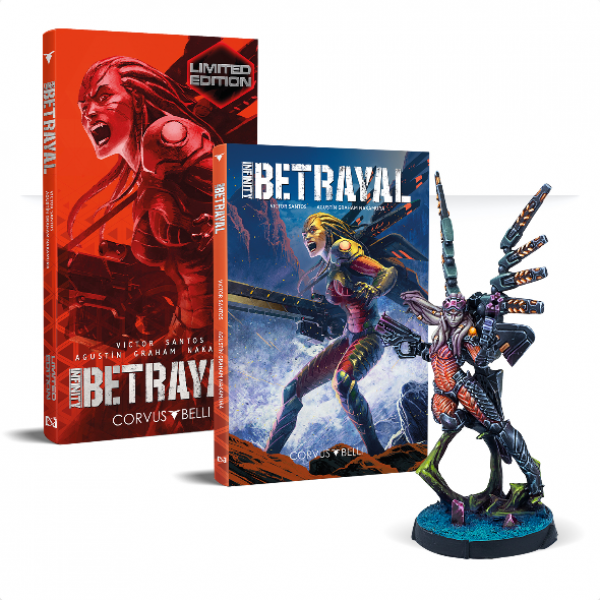 Infinity: Betrayal Graphic Novel w/exlcusive mini [Limited]