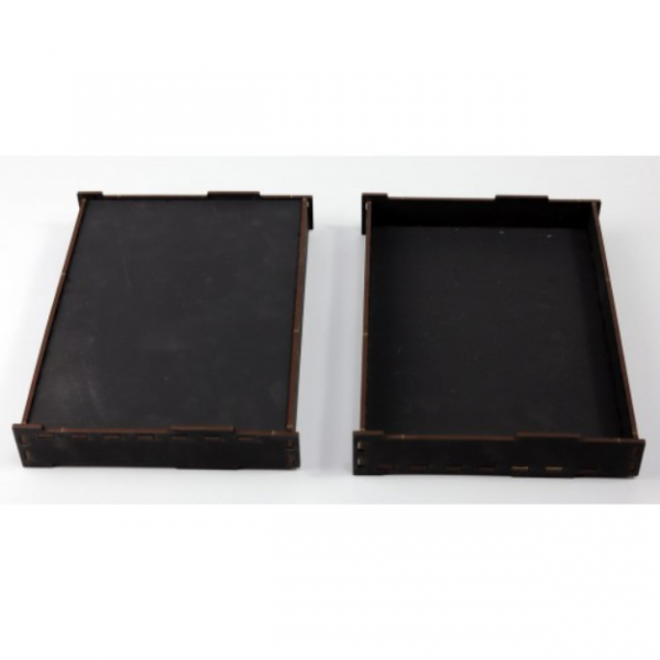 Game Accessory: Small Carry and Display Tray Insert x2 (Black)