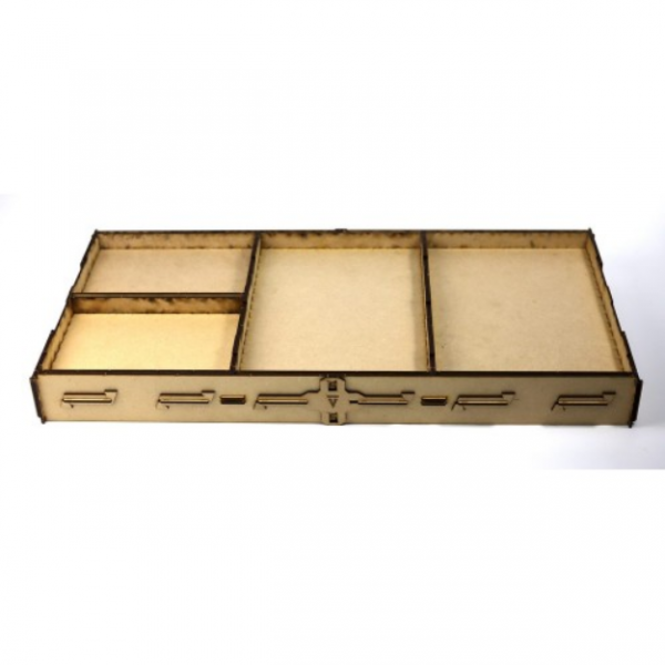 Game Accessory: Vanguard Tactics Carry and Display Tray with Inserts