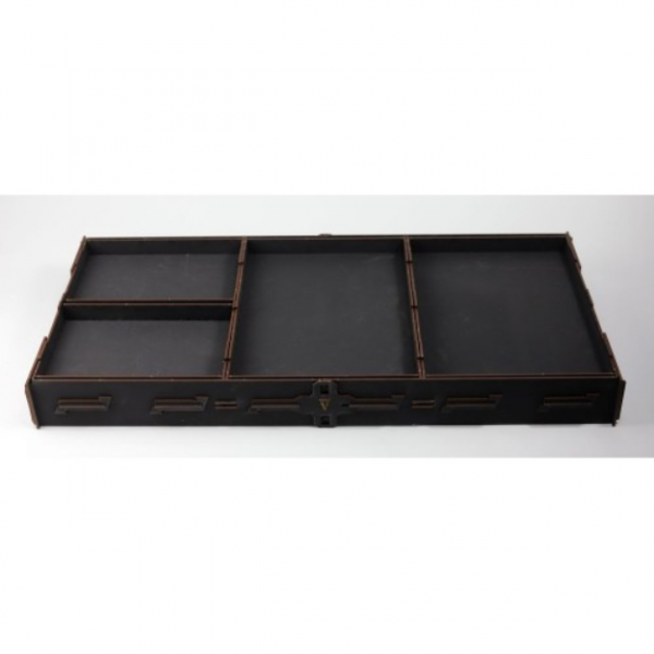 Game Accessory: Vanguard Tactics Carry and Display Tray with Inserts (Black)