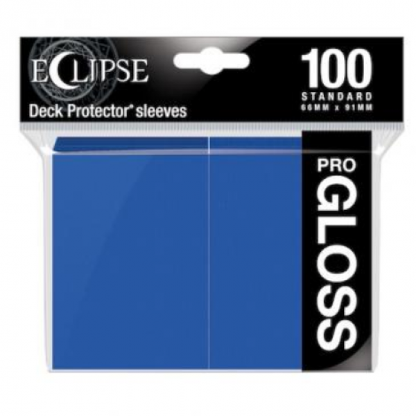 Ultra Pro: Eclipse Gloss Standard Sleeves - Pacific Blue (100)