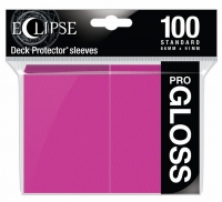 Ultra Pro: Eclipse Gloss Standard Sleeves - Hot Pink (100)