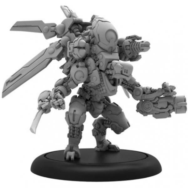 Warcaster: Nemesis A – Warcaster Aeternus Continuum Heavy Warjack (resin/metal)
