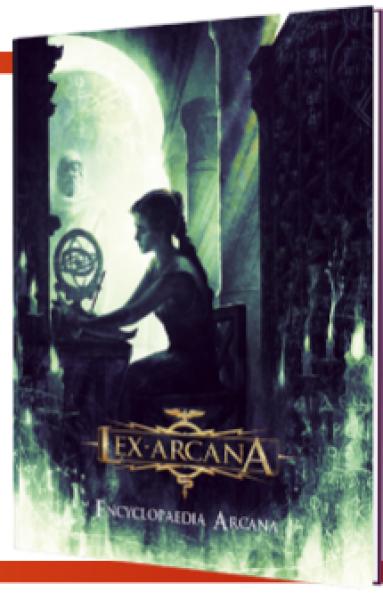 Lex Arcana RPG: Encyclopaedia Arcana (HC)