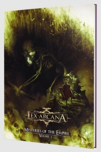Lex Arcana RPG: Mysteries of the Empire I (HC)