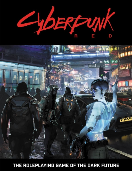 Cyberpunk Red RPG: Core Rules (HC)