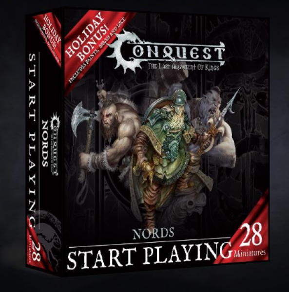 Conquest: Nords Start Playing Holiday Gift Set (Wave 2)
