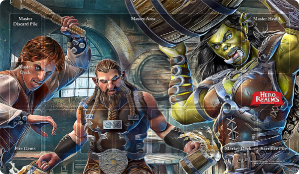Hero Realms: Campaign Playmats - Enthralled Regulars