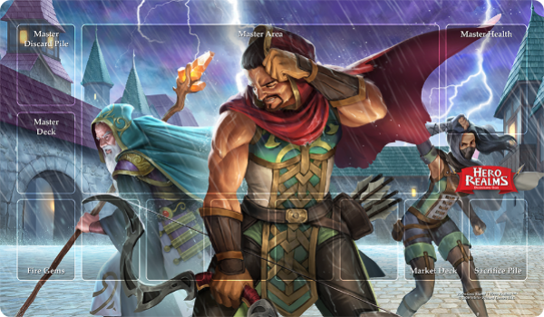 Hero Realms: Campaign Playmats - Relentless Storm