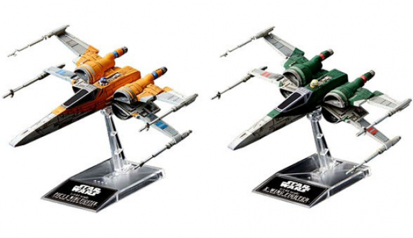 Bandai Hobby: Star Wars - Poe's X-Wing (Resistance and Rise of Skywalker Versions) (1/144 scale)