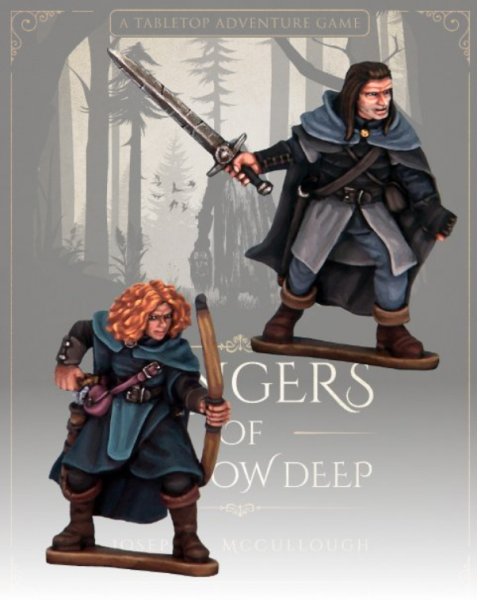 Rangers of Shadow Deep: Blood Moon Companions - Covin & Orla