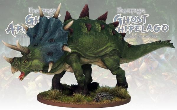 Frostgrave: Ghost Archipelago Dragon-Bull