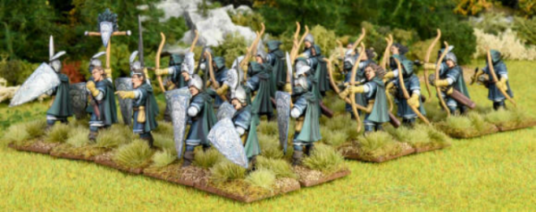 28mm Fantasy: (Oathmark) Elf Light Infantry Box Set