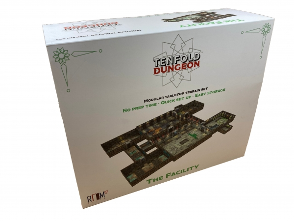 Tenfold Dungeon: 3D Terrain Setting - The Facility
