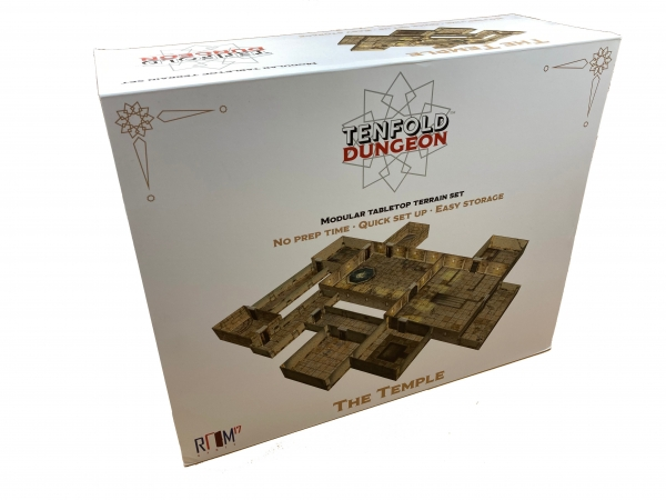 Tenfold Dungeon: 3D Terrain Setting - The Temple