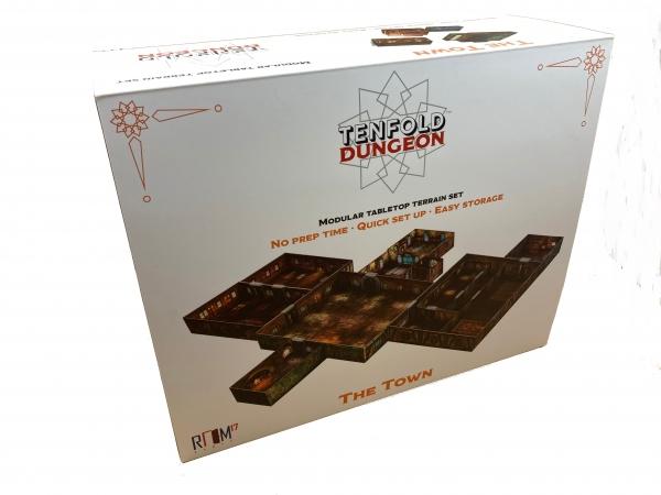 Tenfold Dungeon: 3D Terrain Setting - The Town